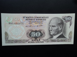 TURQUIE : 50 LIRA  L.1970 (1976)   P 188    SPL - Turchia