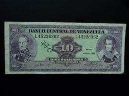 VENEZUELA : 10 BOLIVARES  31.5.1990   P 61b   TTB + Feutre - Venezuela