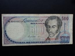 VENEZUELA : 500 BOLIVARES    5.6.1995   P 67e    TB+ - Venezuela
