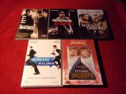 PROMO  DVD ° REF  21 ° LE LOT DE 5 FILMD  DVD AVEC LEONARDO DICAPRIO   POUR 20 EUROS °°° - Action, Adventure