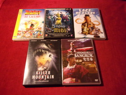 LOT DE 5 DVD   POUR 10 EUROS ( Lot 122 ) - DVDs