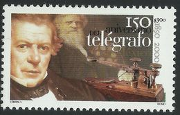 2000 150 Aniv. Del Telégrafo En México, SAMUEL MORSE MNH Telegraph , JUAN DE LA GRANJA,  COMMUNICATIONS Sc. 2212 - Mexico