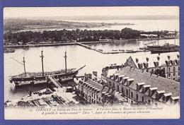 Mi1885) Lorient Entrée Du Port De Guerre (Non écrite TTB état) - Lorient