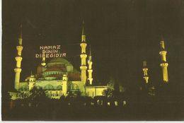 ISTANBUL THE BLUE MOSQUE NAMAZ DIVIN DIREGIDIR (219) - Turchia