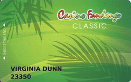 Casino Fandango - Carson City, NV - Slot Card - Casino Cards