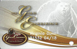 Gold Country Casino - Oroville, CA - Slot Card - Casino Cards