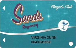 Sands Regency Casino - Reno, NV - Slot Card - Casino Cards