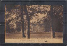 60167 . VILLETTE  PONT STE MAXENCE . CHATEAU   . (recto/verso) - Pont Sainte Maxence