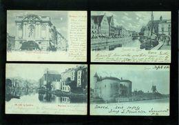 Beau Lot De 60 Cartes Postales De Belgique Clair De Lune    Mooi Lot Van 60 Postkaarten Van België Maanlicht - Cartes Postales