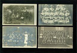 Beau Lot De 60 Cartes Photos ( Carte Photo )  Inconnu Personnes  Mooi Lot Van 60 Fotokaarten  Personen  - 60 Scans - Cartes Postales