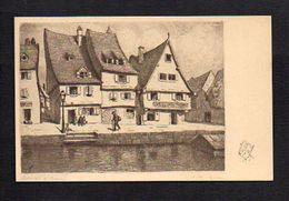 Illustrateur Dessin (H) Hansi J.J. Waltz  / Colmar En France / Pub Verso Potasse D'Alsace ... - Hansi