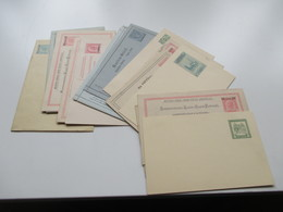 Österreich / Gebiete Ganzsachen / Kartenbriefe Ab 1873 Levante / Bosnien / KuK Feldpost. Gelaufen Und Ungebraucht! 17 St - Entiers Postaux