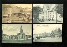 Beau Lot De 17 Cartes Postales De Belgique Grammont   Mooi Lot 17 Postkaarten Van België Geeraardsbergen Geraardsbergen - Cartes Postales
