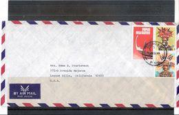 Lettre De Papua-New Guinea Vers U.S.A. (à Voir) - Papouasie-Nouvelle-Guinée