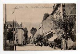 - CPA VIC-SUR-CERE (15) - Café Du Casino 1904 - Photo Moussier 242 - - France