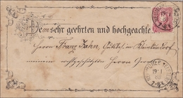 Brief Von Neuhammer/Neumühle/Elster  1888 - Deutschland