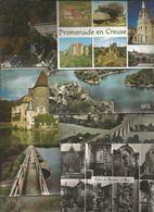 Cp, 23 , CREUSE , LOT DE 8 CARTES POSTALES , Grand Format - Cartes Postales