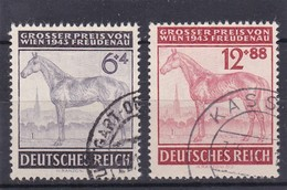 Deutsches Reich, Nr. 857/58, Gest.  (T 4575) - Deutschland