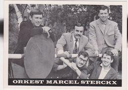 Publicite Marcel STERCKX, Orchestre Orkest -relax Music -Borgerhout Antwerpen Belgie Belgique Hofstade 1950 ? - Cartes De Visite