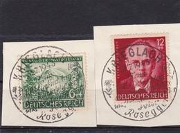 Deutsches Reich, Nr. 855/56, Gest.  (T 4579) - Usados