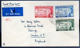 West Indies 1958 Scarce Early FDC ST. JOHNS (202) - 1858-1960 Colonia Británica