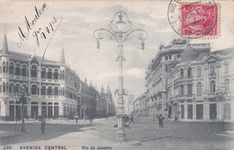 Brésil / Brasil - Rio De Janeiro - Avenida Central - 1908 - Rio De Janeiro