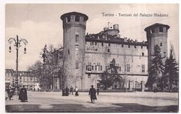Torino , Turin ,  Torrioni Del Palazzo Madama - Italy