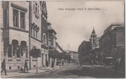 AK - Polen - RZESZOW - 3. Mai Gasse - Österr.-ung. Bank U. Sparkasse 1915 - Polen