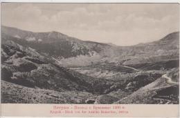 AK - (Montenegro) NJEGUSI – Blick Vom Bukovica-Pass 1910 - Montenegro