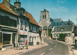 18 / 4  /9 8   -  ST.  RIQUIER  ( 80 )  -  ROUTE  D'ABBEVILLE  -  C P M - Saint Riquier