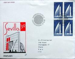 Denmark 1992 SEVILLA   MiNr.1036    FDC   ( Lot 6374 ) - FDC