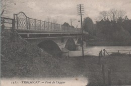 TROISDORF - Pont De L'Agger - - Troisdorf