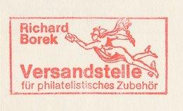 6Meter Cover Germany 1972 Hermes - Mercurius - Messenger - Richard Borek - Mitología