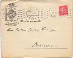Enveloppe Kuvert - Pub Reklam Andr. Logen - Gyllene Gripen - Till Hagfors Sverige Suède Zweden 1930 - Suède
