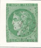N°42 NUANCE ET OBLITERATION. - 1870 Emisión De Bordeaux