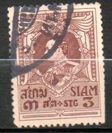 SIAM  Roi Vajiravudh 1923-24 N°172 - Siam