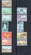 1953 TONGA - Fishing, Aircrafts, Ships* - Tonga (...-1970)