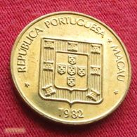 Macau 10 Avos 1982 KM# 20  Macao - Macau