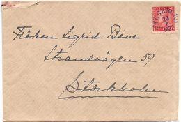 Enveloppe Kuvert - Till Stockholm Sverige Suède Zweden 1932 - Suède