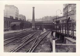 Railway Station Photo Farringdon Metropolitan Exit To King's Cross 1953 London - Trains