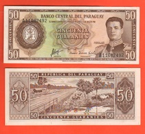 Paraguay 50 Guaranies - Paraguay