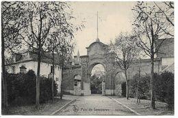 CPA PK  PARC DE TERVUEREN  SORTIE - België