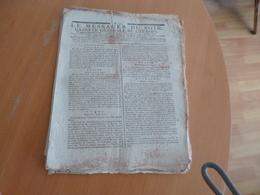 Journal Révolution Le Messager Du Soir Gazette Générale De L'Europe 11/04/1797 N° 202 Tyrol Autriche Allemagne... - Journaux - Quotidiens