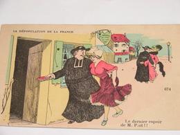 C.P.A.- Humour - La Dépopulation De La France - Le Dernier Espoir De M. P.ot  -1908 - SUP (U20) - Humour