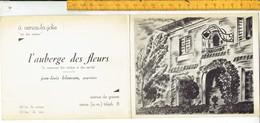 Od 613 L' Auberge Des Fleurs - Le Restaurant Des Artistes Et Des Sportifs - Vence - Menue - Vence