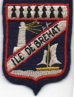 écusson Tissu De L'île De BREHAT, - Ecussons Tissu