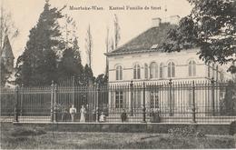 MOERBEKE WAAS Kasteel Familie De Smet - Moerbeke-Waas
