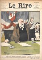 LE RIRE .JOURNAL HUMORISTIQUE  MAI 1906. Ilustrateurs. A .GUILLAUME.  POULBOT . CARLEGLE . VILLEMOT . METIVET. DESCRIPT - Autres
