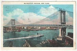 Manhattan Bridge, New York - Ponts & Tunnels