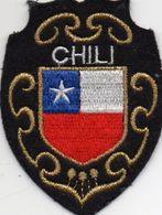 écusson Feutre, CHILI - Ecussons Tissu